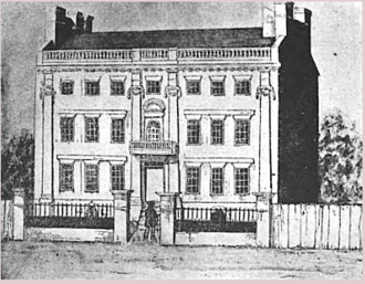 "Foster Hutchinson (judge) - Birthplace of Foster Hutchinson, Foster Hutchinson House, Boston, Massachusetts, c. 1776, demolished 1833  The house is described as ""one of the great lost pieces of architecture in Boston history"""