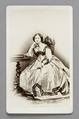Fotografi. Porträtt. Cecilé von Hallwyl - Hallwylska museet - 87191.tif