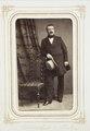 Fotografiporträtt på Kammarherre Adolf von Bülow, 1860-tal - Hallwylska museet - 107806.tif