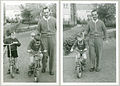 Found photograph- learning to ride a bike.jpg
