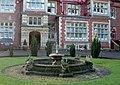 Fountain, Pendley Manor - geograph.org.uk - 339705.jpg