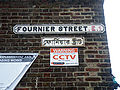 Fournier Street Road Sign London.JPG