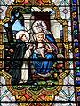 Fr Chapelle Notre-Dame-de-Lhor Saint Benedict stained glass - center detail.jpg