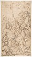 Fragment of a Composition with a Reclining Semi-Nude Man Surrounded by Soldiers and Other Onlookers in a Landscape MET DP810053.jpg