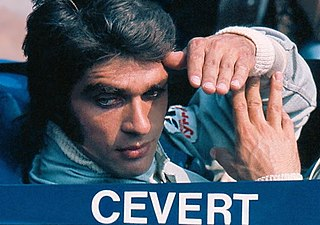 François Cevert French racing driver