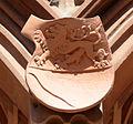 Frankfurt Haus zum Römer Balkon Wappen oben 08 Marburg zum Paradies.jpg