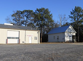 Franklin, Alabama - Franklin Volunteer Fire Department and Town Hall