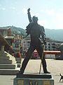 Freddie Mercury statue in Montreux.JPG
