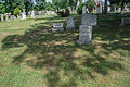 Frederic DeFrouville grave wide - Glenwood Cemetery - 2014-09-14.jpg