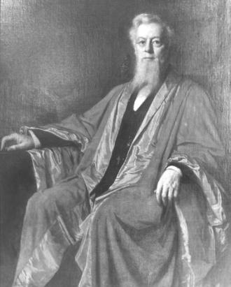 Frederick Augustus Porter Barnard - Eastman Johnson's portrait of Frederick Augustus Porter Barnard, 1886