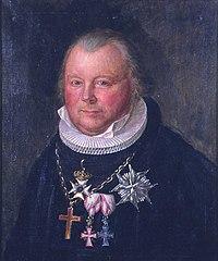 Frederik Julius Bech av August Eiebakke, Eidsvoll 1814, EM.00682 (cropped).jpg