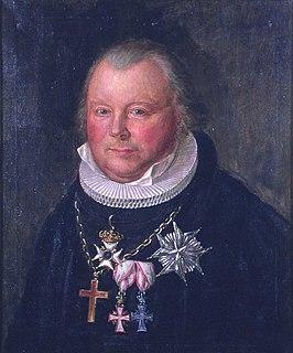 Frederik Julius Bech Danish-Norwegian theologian and politician