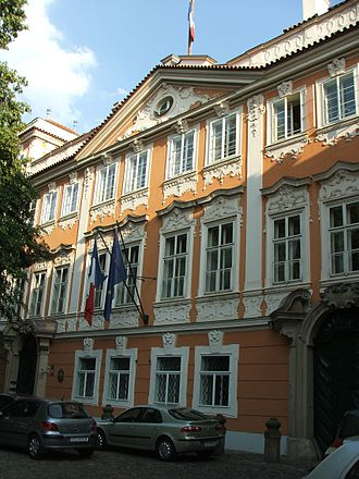 Embassy of France, Prague - French Embassy in Prague