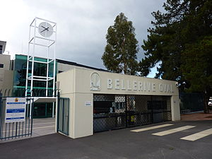 Bellerive Oval - Front Gate Bellerive Oval
