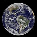 """Full Disk View Showing Earth on 3.14 - """"Pi Day"""" (8556665115).jpg"""
