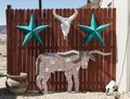 """Funky art in the isolated Terlingua settlement, just north of Big Bend National Park in Texas's """"Trans-Pecos"""" region LCCN2014631087.tif"""