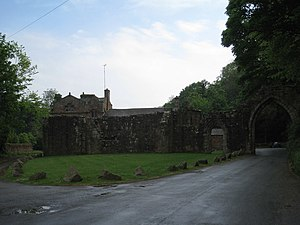 Listed buildings in Barrow-in-Furness - Image: Furness Abbey Capells Extra Portas Gateway geograph.org.uk 2433985