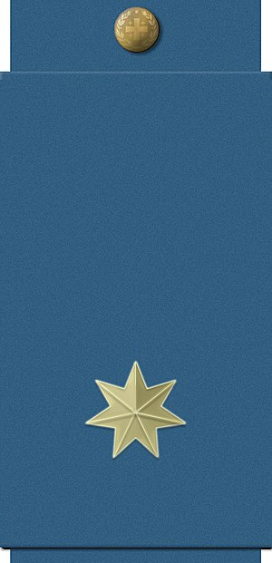 Georgian Air Force - Image: GAF airforce junior lieutenant