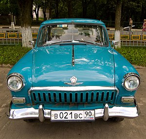 GAZ-21 - Second Series (1959-62).