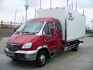 GAZ Valdai - Showpiece GAZ Valdai double cabin (different chrome finish)