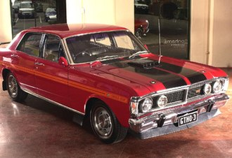 Performance car - Ford Falcon GT-HO Phase 3