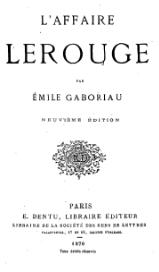 Gaboriau - L'Affaire Lerouge.djvu