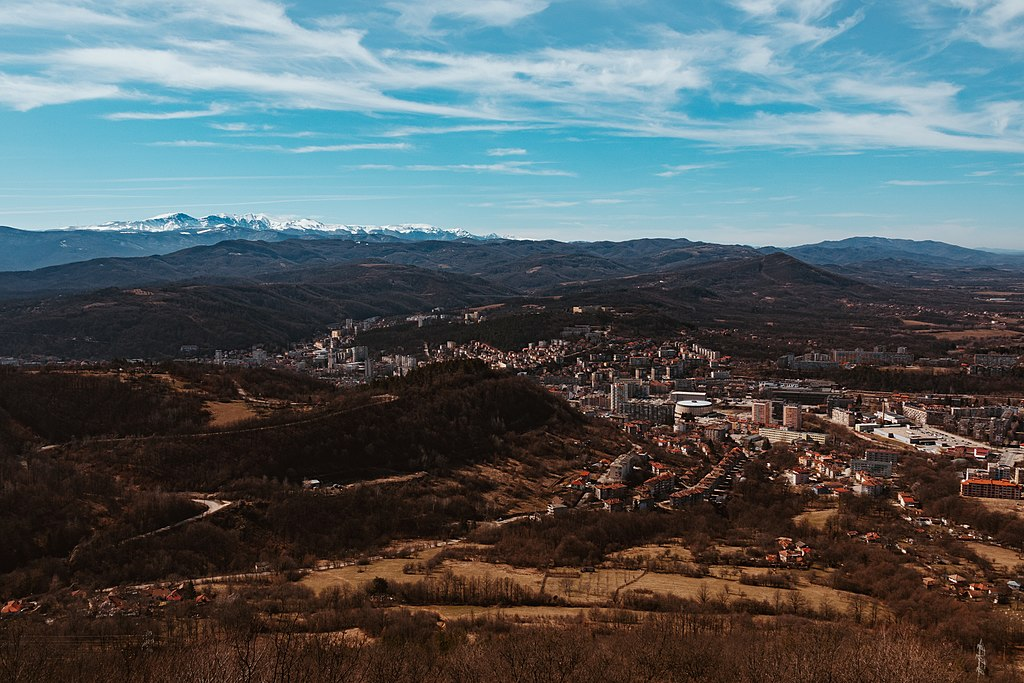 Gabrovo - View from the hill