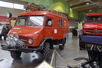Unimog 404 - Unimog 404.1 with an extended four-door-cab.