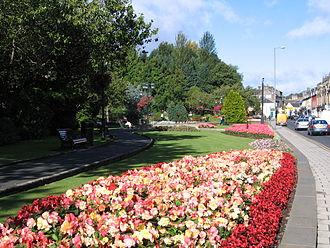 Galashiels - Bank Street Gardens, Galashiels