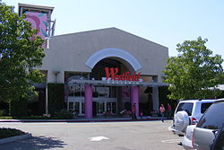 Roseville's Westfield Galleria Mall in June 2007.