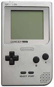 Une Game Boy Pocket.