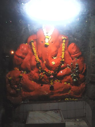 Jogeshwari Caves - Image: Ganapati Mandir Jog Caves