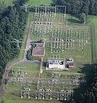 Ganderkesee Substation (380 kV to 110 kV), aerial view.jpg