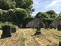 Garden walls at former Bishops Palace↵(Carmarthenshire County Museum).jpg