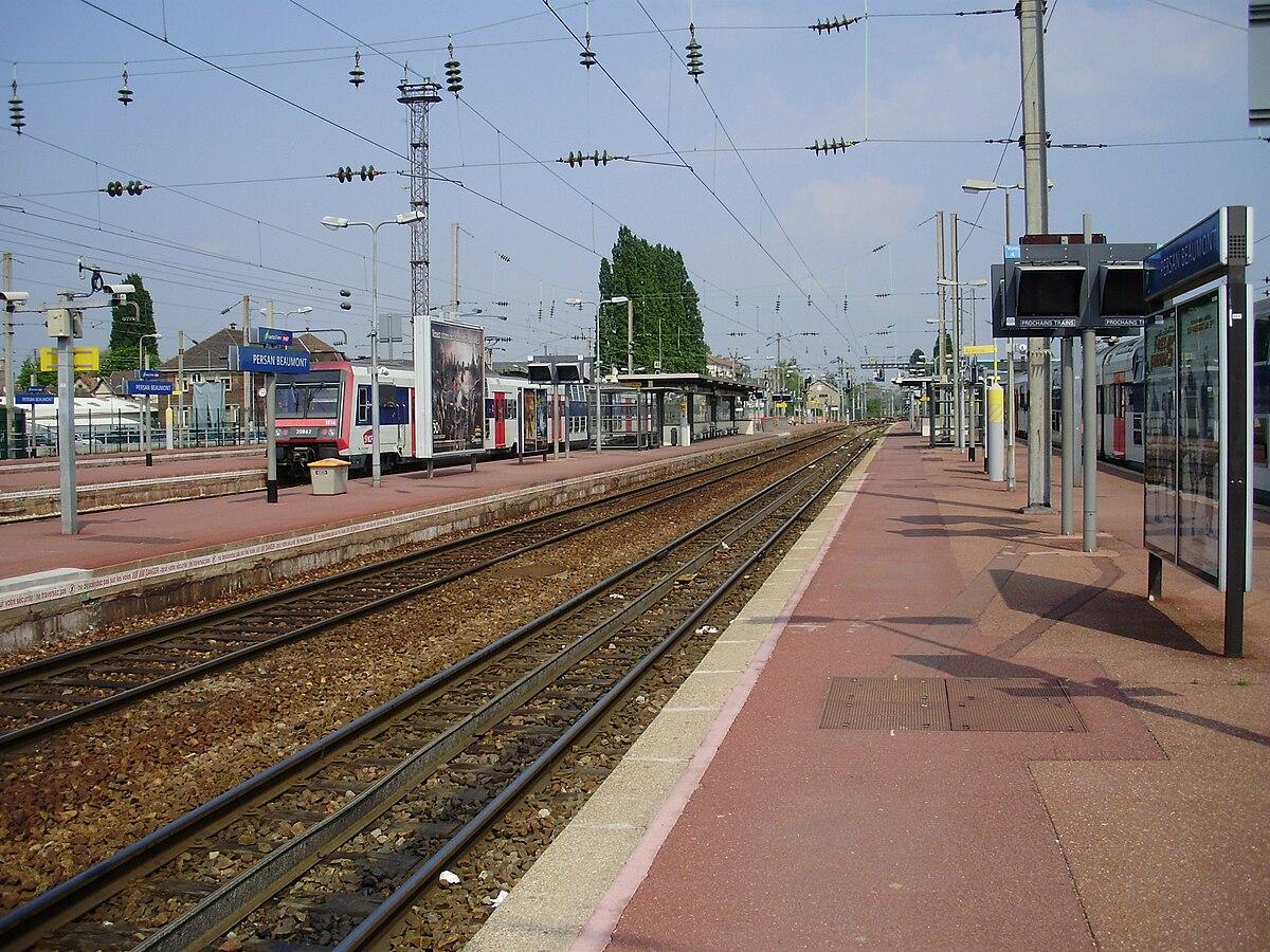 persan�beaumont station wikipedia