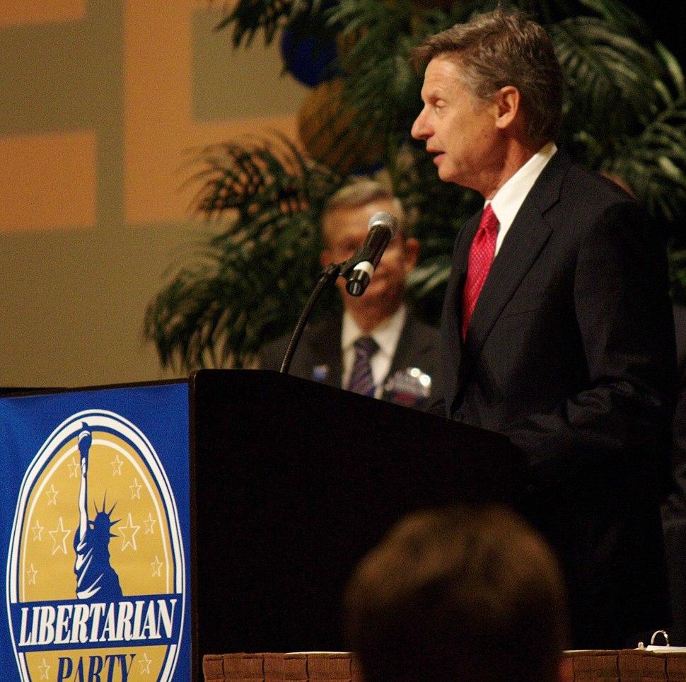 GaryJohnsonLPConvention2012