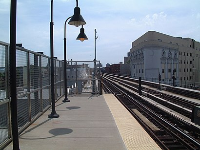 How to get to Gates Ave with public transit - About the place