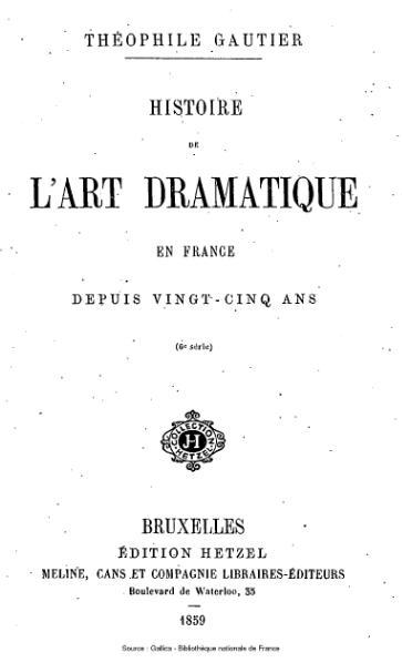 File:Gautier - Histoire de l'art dramatique en France depuis vingt-cinq ans, 6e série.djvu