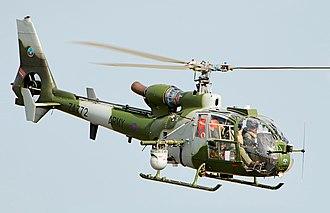 Aérospatiale Gazelle - An Army Air Corps Gazelle over RIAT 2018