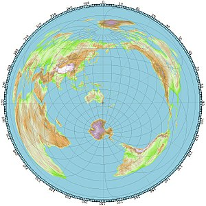 Azimuthal Equidistant Projection Wikipedia