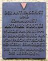 Gedenktafel Schönhauser Allee 39 (Prenzl) Arthur Sodtke.jpg