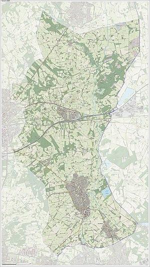 Losser - Dutch Topographic map of Losser, June 2015