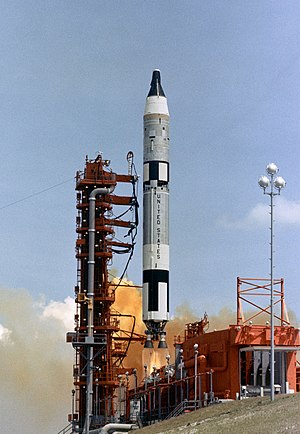 1964 in spaceflight - The launch of Gemini 1, the first flight of the Titan II GLV rocket and the Gemini programme