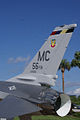 General Dynamics F-16A Fighting Falcon 81-0721 Block 15 TailCode MacDill Air Park 24July2010 (14630157172).jpg