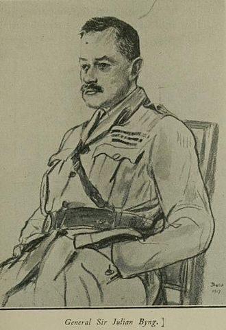 Julian Byng, 1st Viscount Byng of Vimy - A wartime sketch of General Byng