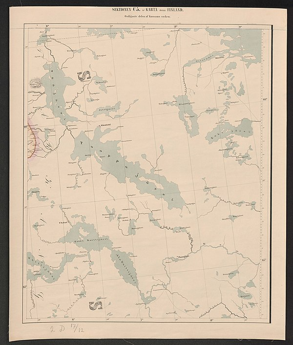 600px general map of the grand duchy of finland 1863 sheet c5