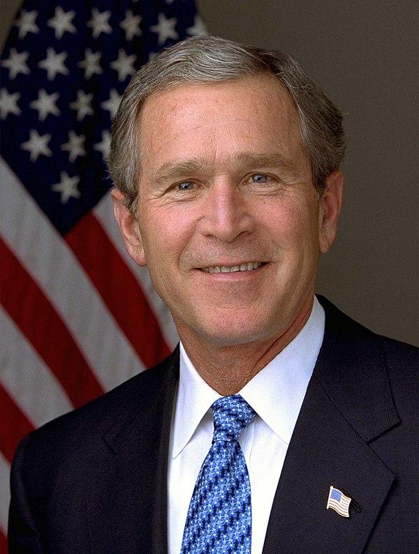 Photo George W. Bush via Wikidata