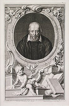 Buchanan, original engraving by Jacobus Houbraken