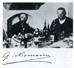 George Niemann - Niemann (left) with Otto Benndorf at Ephesus (1896)