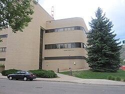 George R. Brown Hall houses various engineering disciplines, including mining.